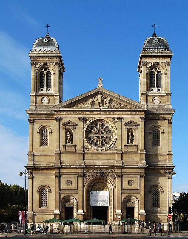 pompes funèbres 75 - église saint-françois-xavier