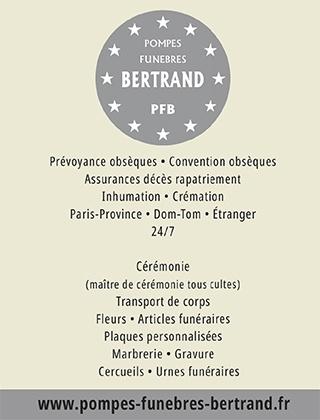 Pompes Funebres Bertrand