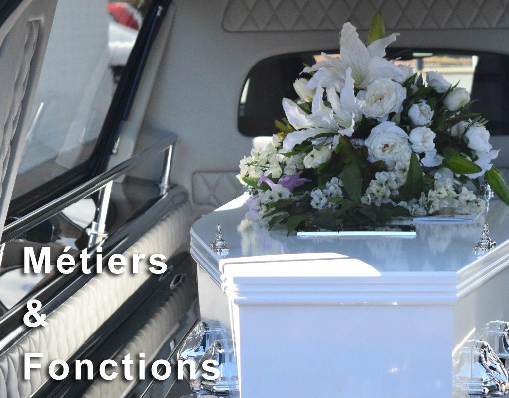 pompes funèbres paris, les métiers
